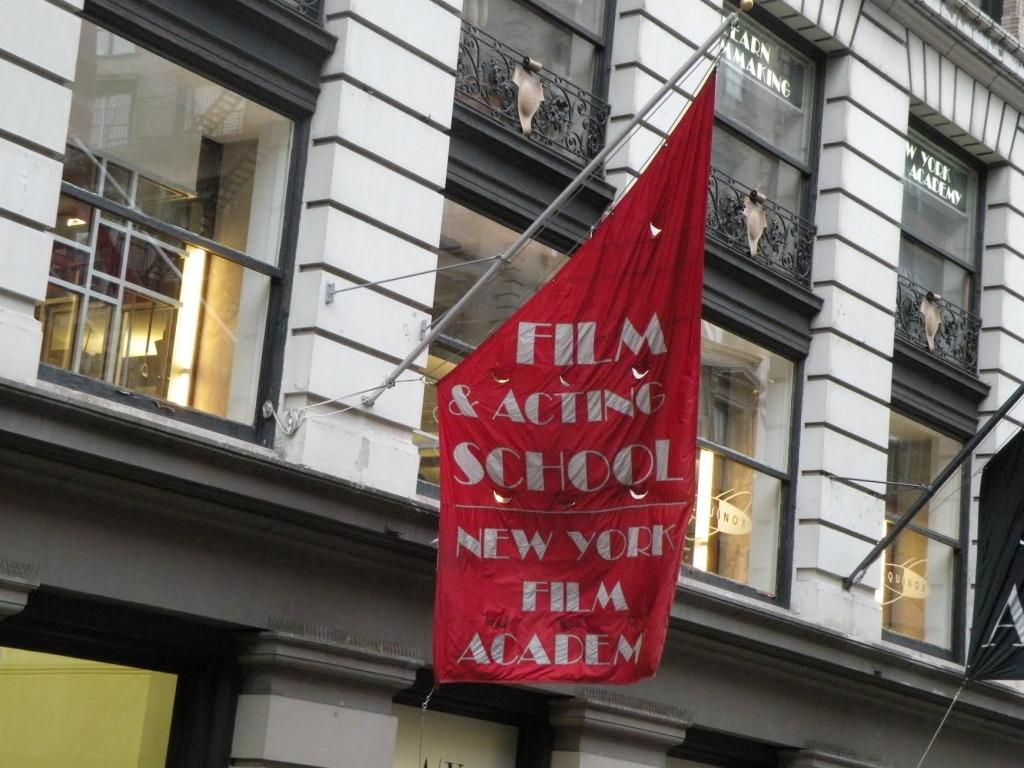 NY Film Academy Flag Banner