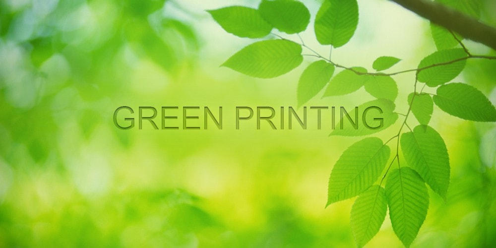 New York City Green Printing, Greenest Printer NYC