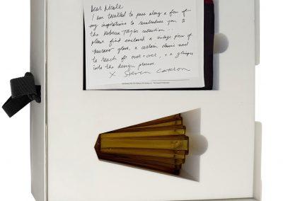 Hand written wrapper for custom Rebecca Taylor Fashion box