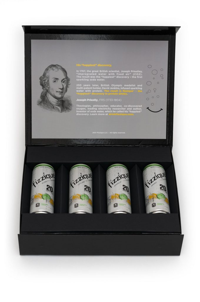 Fizzique - Custom Packaging and Design - Earth Enterprise New York City