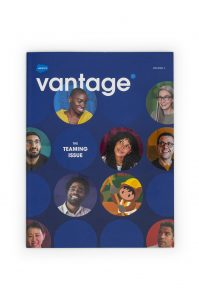 Saleforce Vantage Point Magazine - produced by Earth Enterprise
